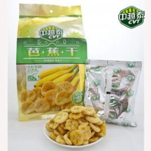 进口果干越南特产中越泰芭蕉干200g  特色零食一件代发食品批发