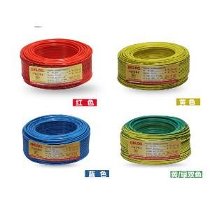 广西网联多股铜芯线BVR铜芯线1.5平100米厂价销售电线电缆