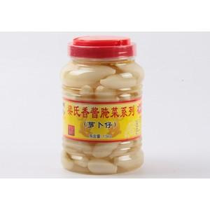 广西特产 梁氏香 腌制萝卜仔 1500g/