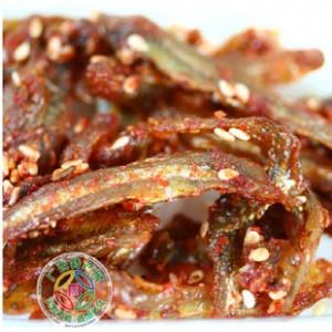 广西北海特产 陈锡九香辣小银鱼/小鱼仔 鲜甜酥脆180g