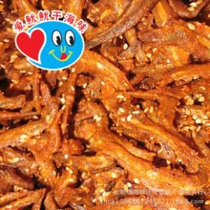 阿里批发海产品香辣银鱼仔 广西北海特产休闲食品 即食零食