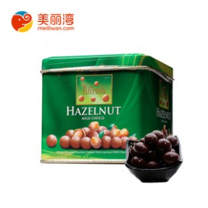 马来西亚特产 爱芙榛子牛奶巧克力铁