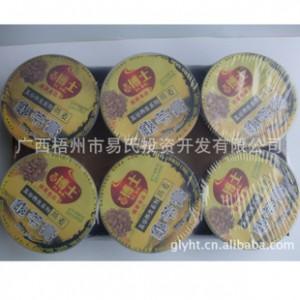 广西名牌梧州特产易博士六杯混装龟苓膏(特价)无糖杯