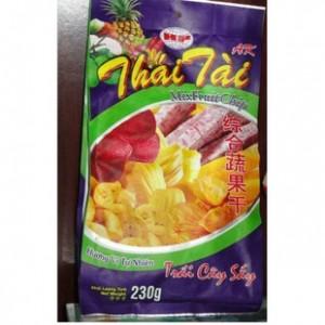 供应现货越南特产和发AK综合蔬果干230克 质优价美美味蔬果干