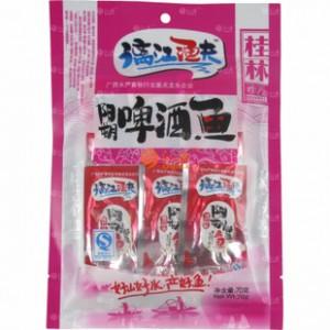【桂林特产】漓江渔夫70g啤酒鱼干 特色零食  包装鱼丝