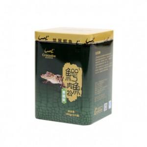 盟展鳄鱼肉松果蔬味100g 休闲营养补