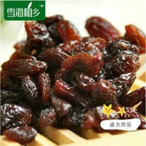 雪海梅乡 新疆特产特级野生黑加仑葡萄干无籽黑提干健康零食5斤