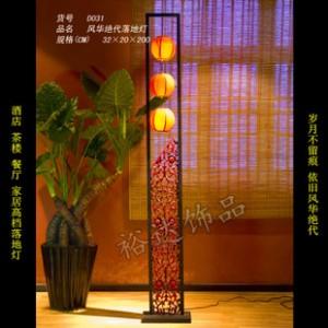 中式古典创意灯饰 家居装饰照明灯 卧室客房风华绝代落地灯D031