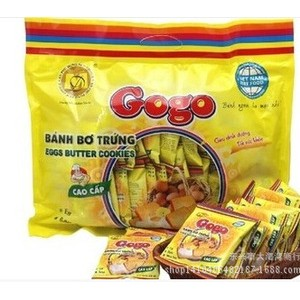 越南特产Gogo高级鸡蛋面包干 一袋300g 一件20袋 进口零食 饼干