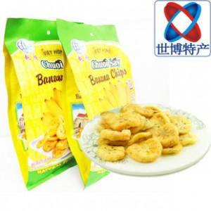 越南特产进口零食品越鸿综芭蕉干250g 水果蔬菜干批发