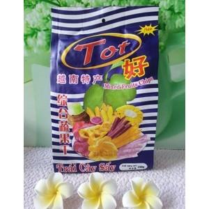 越南特产 TOt好牌综合蔬果干230克整