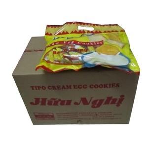 越南特产TIPO面包干白巧克力300克友谊面包干整箱10 包