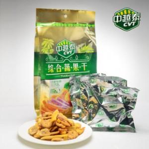 越南特产进口果干中越泰综合蔬果干2