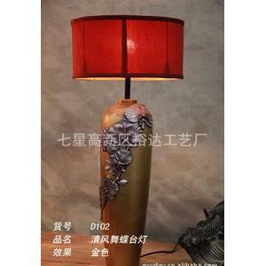 中式家居创意灯饰灯具 卧室台灯 客厅照明灯 喜庆礼品D102