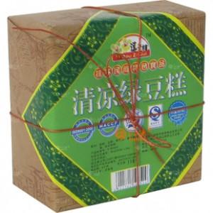 【吓】逗子桂118G清凉绿豆糕方包 最专业的桂林特产公司为您呈现