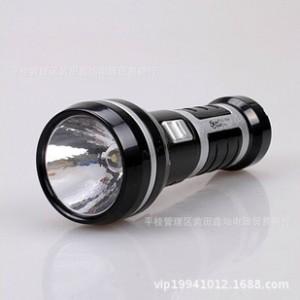 雅格YG-3736手电筒 0.5W大功率LED充电式手电筒 强光手电筒