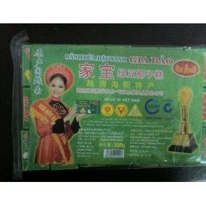 供应进口食品越南特产家宝绿椰子豆糕