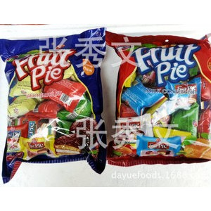 越南特产批发 水果派 Fruit PIe 200克*24包新包装