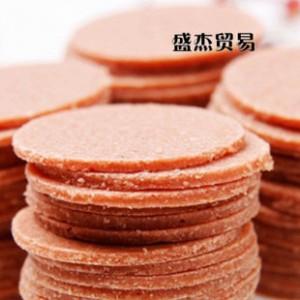 休闲零食批发 山东青州特产零食 山楂饼 散装3斤 开胃山楂片
