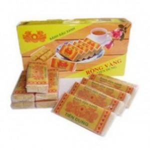 越南进口特产 黄龙古传绿豆糕 170克