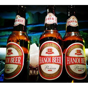 越南啤酒 河内啤酒 玻璃瓶装 高级啤酒 330ML BIA HA NOI BEER