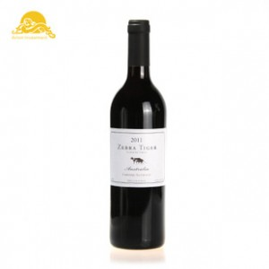 红酒批发 斑马虎赤霞珠干红2011 红葡萄酒 安东酒业进口正品特价