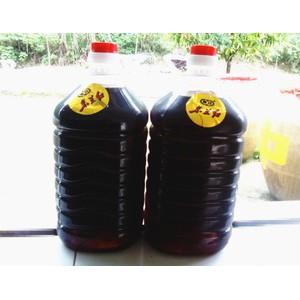 批发桶装5年陈酿东兰红16度  养生保健黄酒  金樱果泡墨米酒
