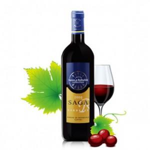 法国进口红酒拉菲传说2008干红葡萄