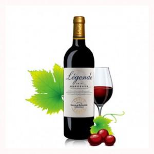 法国进口红酒拉菲传奇2010干红葡萄酒波尔多AOC赤霞珠正品批发