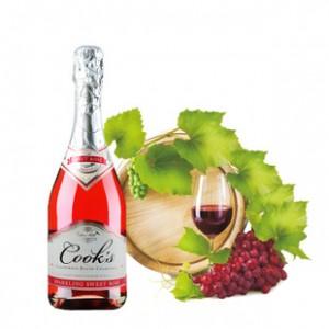 美国进口起泡酒 库克斯香槟 赤霞珠 女士酒香甜可口 正品批发