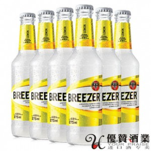 正品 百加得/冰锐预调朗姆酒柠檬味 275ml*24
