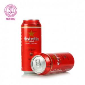 达姆星啤酒西班牙进口啤酒罐装500ML