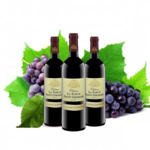 法国原装进口葡萄酒 伯德圣花干红葡