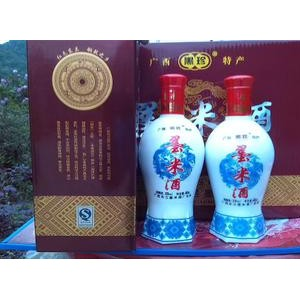 【批发】20度优质墨米养生保健十年陈酿墨米黄酒