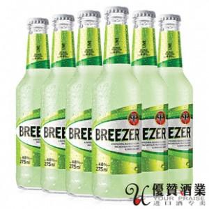 正品 百加得冰锐朗姆预调酒 青柠味 275ml*24