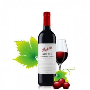 澳洲进口红酒BIN奔富389干红葡萄酒