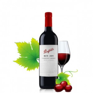 澳洲进口红酒BIN奔富389干红葡萄酒寇兰山洛神波尔多AOC正品包邮