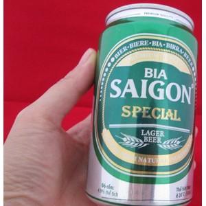 进口啤酒 越南西贡啤酒 听装 4.9度 24罐x330ml BIA SAIGON