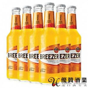 正品 百加得冰锐朗姆预调酒 橙味 275ml*24
