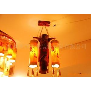 诚招根雕灯,竹灯,酒店装饰,家居装饰代理加盟