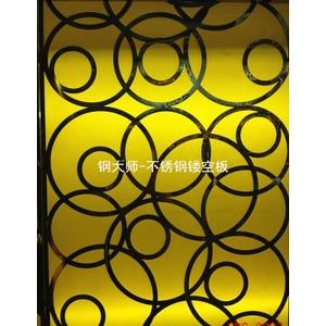 不锈钢镂空板、金属雕花板、彩钢板、金属装饰板、GDS-6807