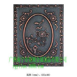 高档铜背景墙