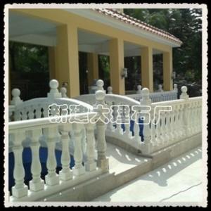 12*60 方形柱子 天然大理石 扶手 栏杆 柱子