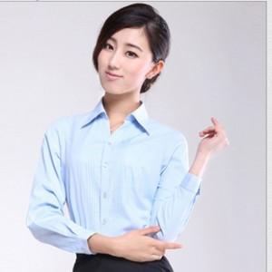 厂家直销 女装长袖修身衬衣 2014新款商务工装衬衫 质量保证.