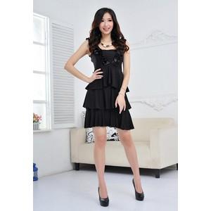2014新品上市女装多层次连衣裙