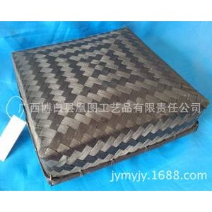 厂家自产自销手工编织竹盒 专用于礼