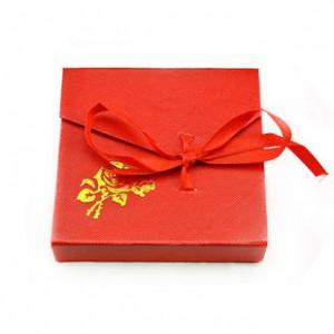 精美手镯礼品包装盒 翻盖式首饰包装