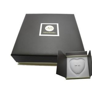咖啡双开盒 新品包装盒 首饰盒 珍珠项链盒