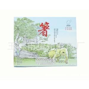筷子天地礼盒,彩色高档包装,规格,LOGO印刷可定制