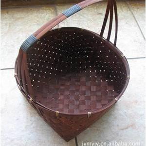 厂家直销热销款 竹编提篮  适用于礼
